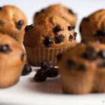 Muffiny z szuszoną żurawiną