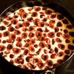 ciasto z czeresniami surowe