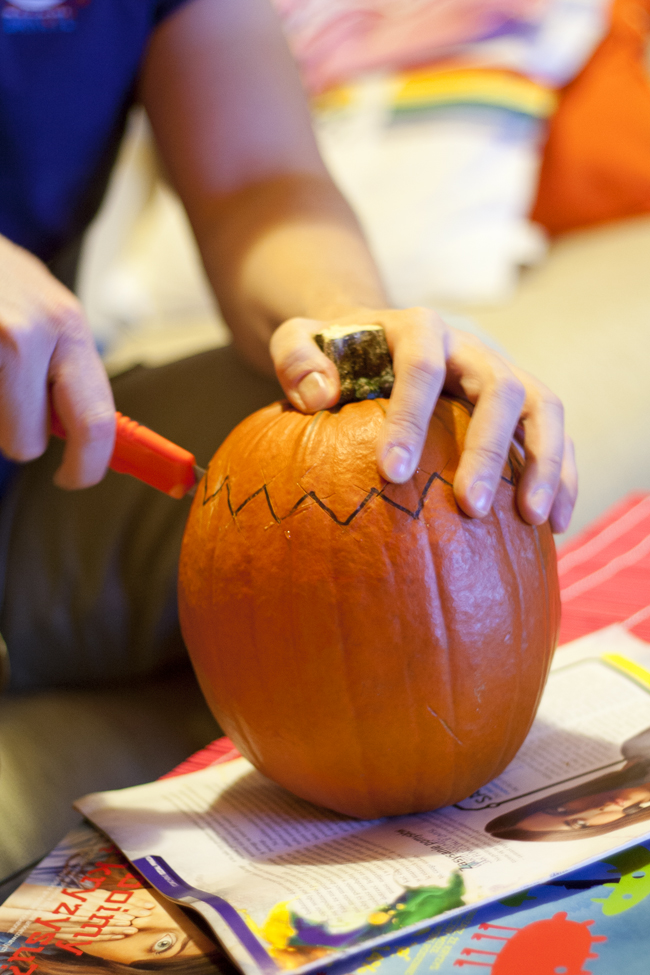 halloweenowa dynia