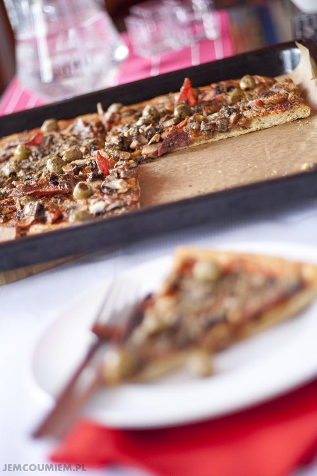 ciasto na pizze bez drozdzy