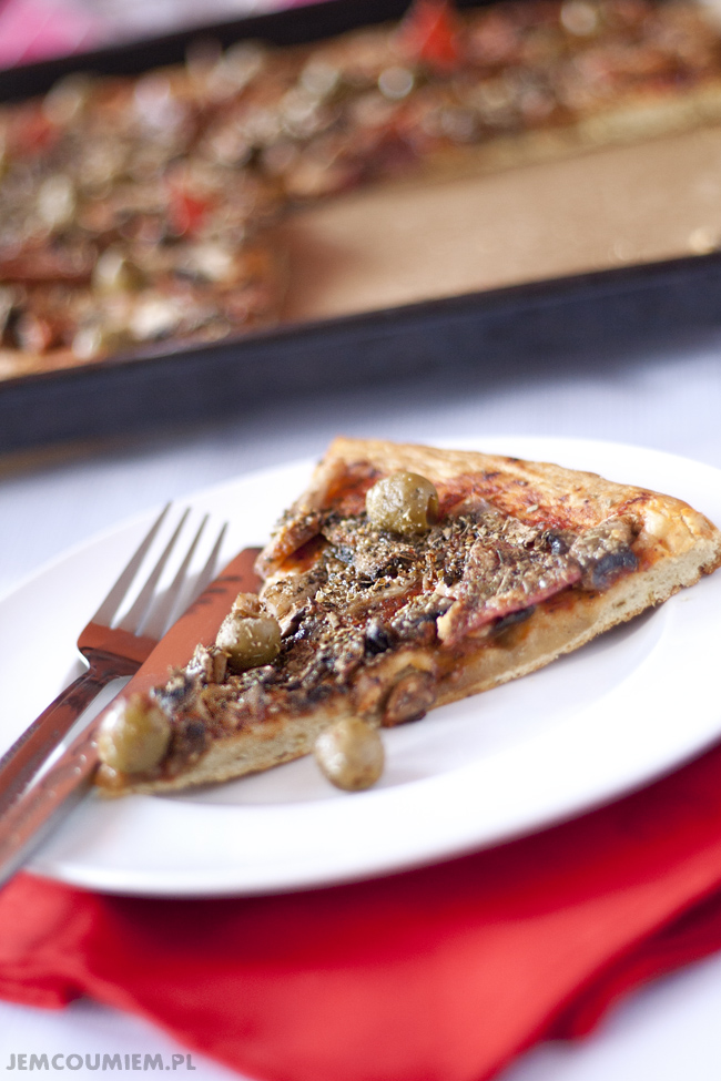 ciasto na pizzę bez drożdży