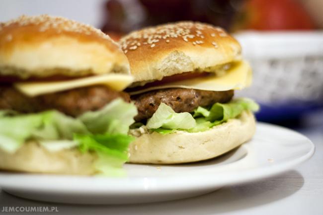 hamburger domowy przepis