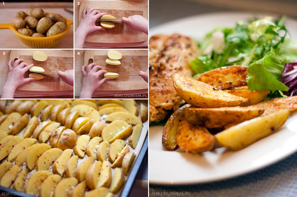 Crispy Baked Potatoes with Parmesan. Must check out this recipe!