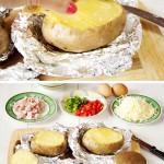 Pieczone ziemniaki | Twice baked loaded potatoes