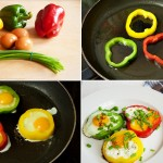 paprika-flower-shaped-eggs-collage
