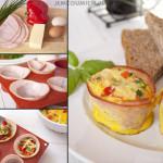 Jajka zapiekane w szynce | Jem Co Umiem